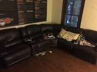 Leather sectional sofa Athens