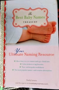 THE BEST BABY NAMES  Mississauga, L5B 2W2