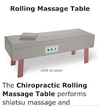 Rolling Massage Table