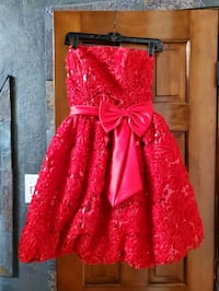 Women's Red Formal dress Sachse, 75048