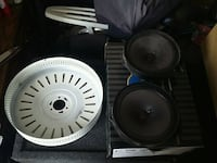 2 facory speaker for accord and parts for a  fan El Paso, 79907