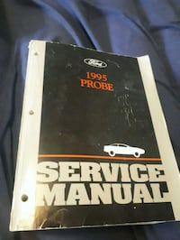 1995 ford probe service manual  Nanaimo, V9R 2Y4