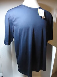 North End Core 365 Pepsi Embroider Navy Blue Sports Shirt XL New
