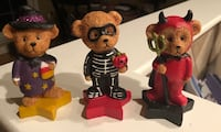 Halloween Bear Figurines  Fairfax, 22030