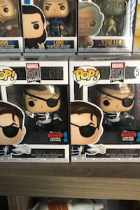 2019 Fall convention exclusive Nick Fury funko pops  Markham