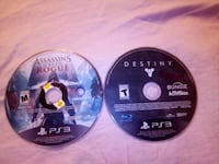 two Sony PS3 game discs Fairfield, 94533