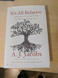 It's All Relative, by A J Jacobs, new hardcover Toronto, M4N