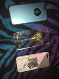 Silver iphone 6 with case Columbus, 43235