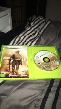 Xbox 360 Call of Duty MW3 game disc with case Winnipeg, R2M 4E3