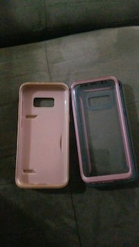 two pink Samsung Galaxy s8 cases Calgary
