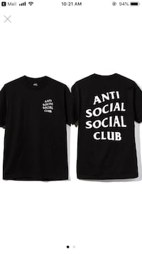 ASSC White on Black Tee Cockeysville, 21030