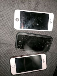 Iphones 4s and 2 5s (parts only) 551 km