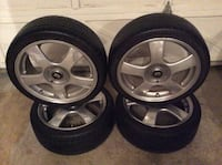 4 rims with Nexen N 7000 high performance low profile tires ( [TL_HIDDEN] W M+S) Langley, V3A 1R9
