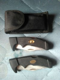 Ying yang knife and case