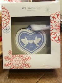 Wedgwood First Christmas Together Ornament- 2016 Olney, 20832