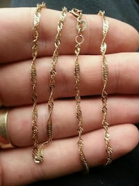 10kt gold chain for sale Chilliwack