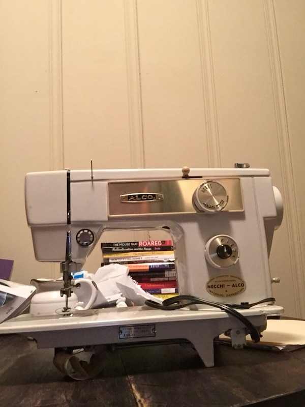 Used NecchiAlco Heavy Duty Zigzag Sewing Machine Professional Tune Cool Sewing Machine Tune Up Near Me