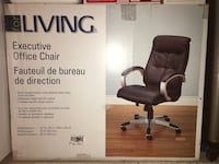 Leather executive office chair London, N6G 5K2
