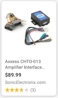 Axxess chry/dodge/jeep amp turn on Long Beach, 90813