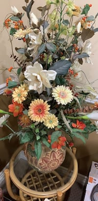 Beautiful artificial flower arrangement (table not included)
