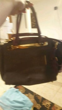 black and brown leather handbag Winchester, 22601