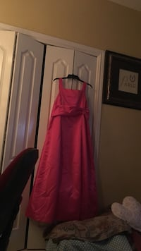 women's pink sleeveless maxi dress 1476 mi