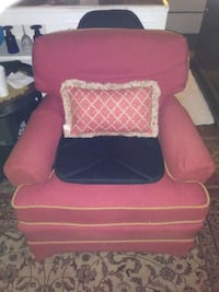 Two chairs and ottoman $75 good condition and shape