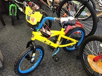 "New 16"" Despicable Me Bike"