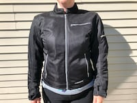 First Gear textile women's motorcycle jacket Red Deer