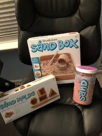 New Brookstone sandbox, sand tray, and pink Sand Sayreville, 08872