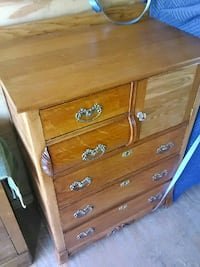 brown tallboy dresser Thornville, 43076