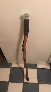 brown and black wooden walking cane Akron, 44301