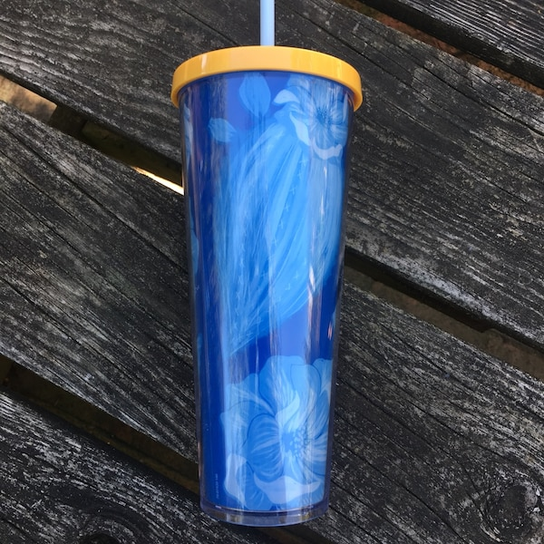 Blue Starbucks Tumbler-NEW 1