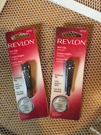 2 Revlon nail clippers   Silver Spring, 20905