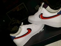 white-and-red Nike low-top sneakers Oceanside, 92057