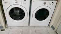 white front-load washer and dryer set Sacramento, 95823