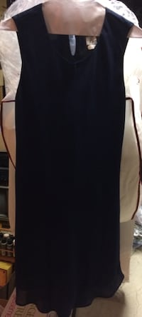 Dark Blue Dress For Sale - Size 8