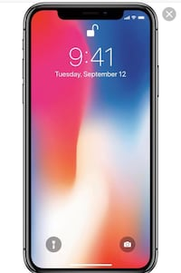 Sprint iPhone X 256 GB Hutto, 78634