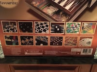 12 in 1 Wood Game Center - Never opened!