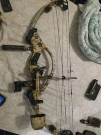 Hoyt zr200 compound bow used good condition