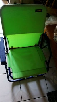 green and black rolling armchair Hialeah, 33012