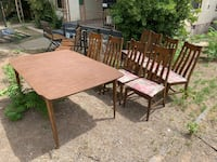 Dinning table seats up to 8