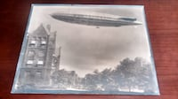 R -100 dirigible photo from 1930 Mississauga