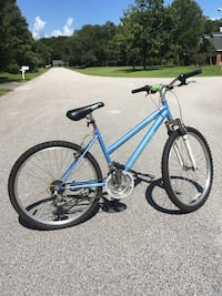 Blue and black hardtail mountain bike Gainesville, 32608