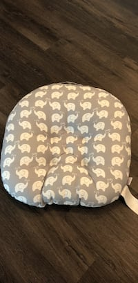 Grey Boppy chair with white elephants Morgan Hill, 95037