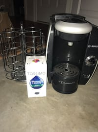 tassimo, disc stand and pack of coffee Shelburne, L9V