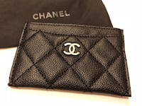 Chanel card holder wallet. Please note , the wallet is compliment from chanel beauty for vip members only .No box no serial manner! It can hold 4 credit card or 3 credit card and cash  Woodbridge, 22191