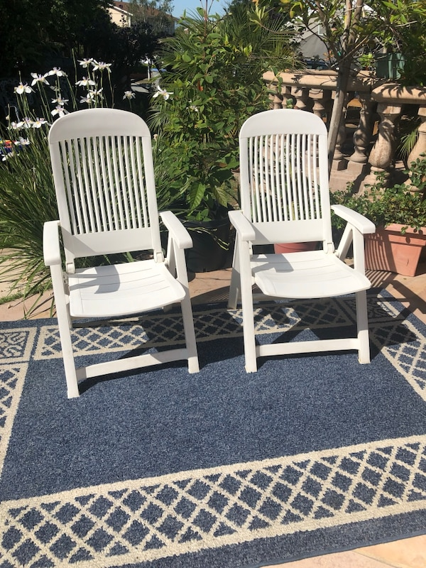 Grosfillex vintage patio chairs or swimming pool side chairs