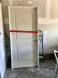 Brand new door with frame 37X82 it was too big for my project  Suisun City, 94585