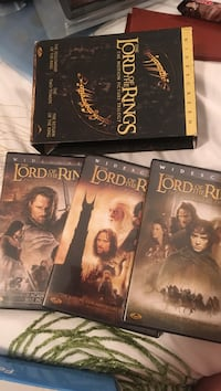 three The Lord of the Rings DVD case series with box Shawville, J0X 2Y0
